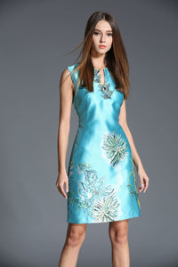 Comino Couture Floral Applique Dress *WAS £135*