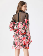 Load image into Gallery viewer, Everything's coming up roses mini dress *WAS £155*