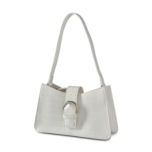 NEW! White Slim Shoulder Bag THREESIXFIVE