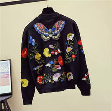 Load image into Gallery viewer, Butterfly paradise knitted two piece