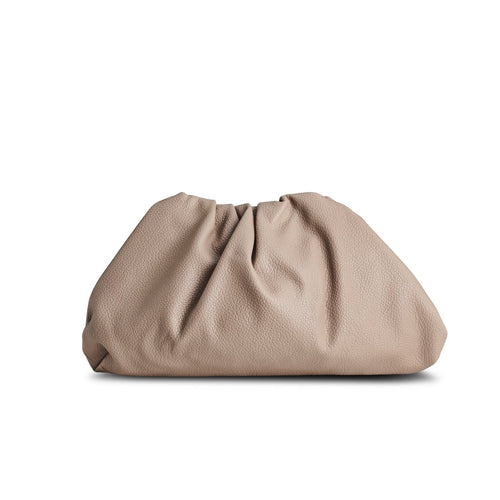 NEW! Beige Croissant Clutch THREESIXFIVE