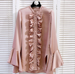 """Feeling Sassy"" ruffle shirt"