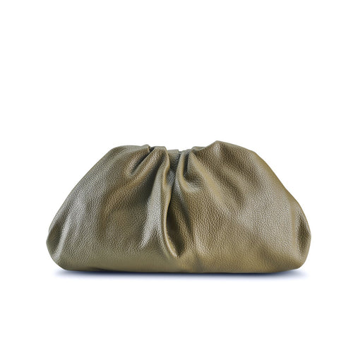 NEW! Olive Croissant Clutch THREESIXFIVE