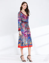 Load image into Gallery viewer, Birds in Paradise two- piece midi dress *WAS £180*