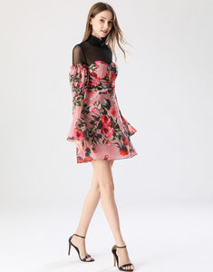 Everything's coming up roses mini dress *WAS £155*