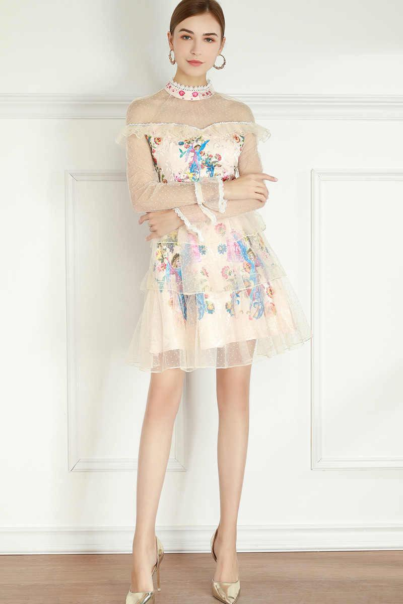 The jubilation with flowers mini dress