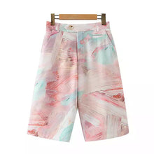 Load image into Gallery viewer, Abstract Pastel Painted Shorts
