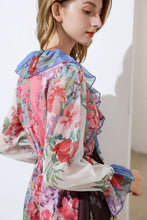 Load image into Gallery viewer, The Floral Clash mix and match romper suit