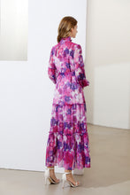 Load image into Gallery viewer, 'The Parma Violets'  Floral maxi dress