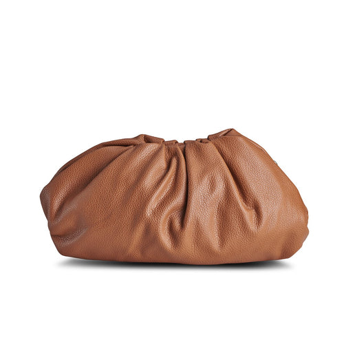 NEW! Brown Croissant Clutch  THREESIXFIVE