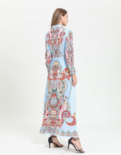 Load image into Gallery viewer, Sunset Paisley maxi dress