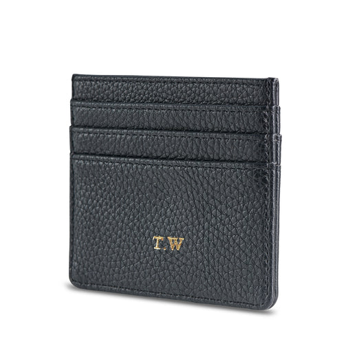 NEW! Black Vegan Leather Card Holder THREESIXFIVE