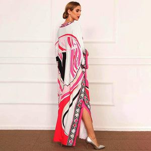 Cerise and love Maxi dress