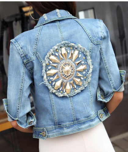 Jewel in the crown Denim Jacket
