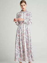 Load image into Gallery viewer, The Fleur long sleeve maxi dress