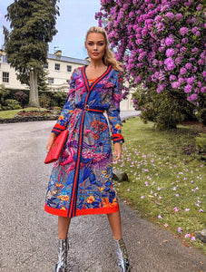 Birds in Paradise two- piece midi dress *WAS £180*