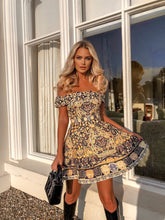 Load image into Gallery viewer, Floral Daze Bardot skater dress *WAS £145*