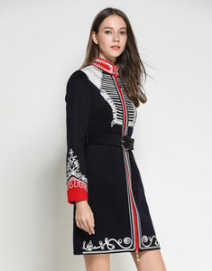 The Commander Navy military dress / coat *WAS £220*
