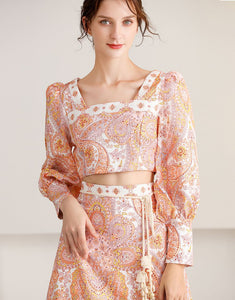 The Strawberry Sorbet  bohemian set