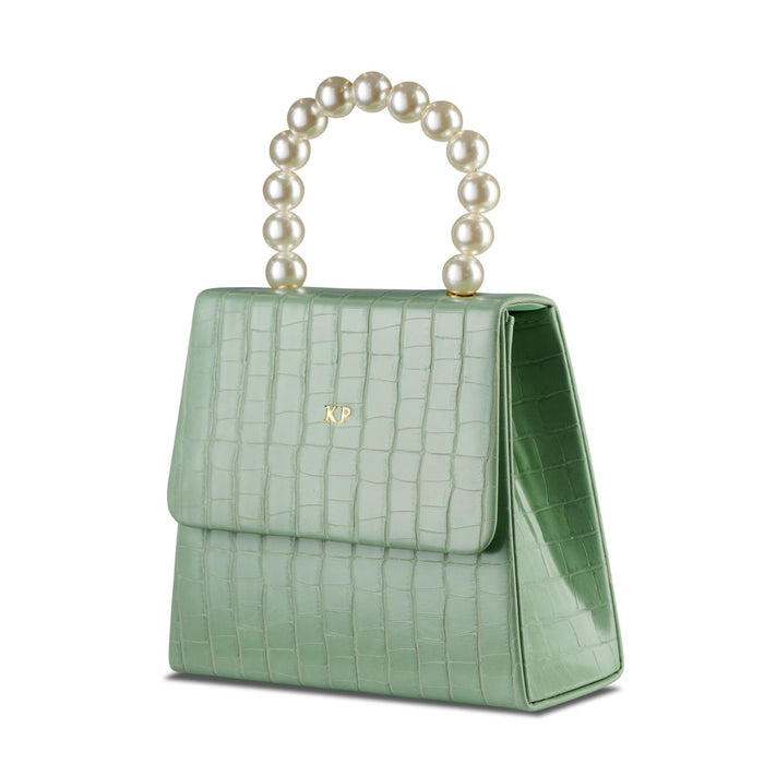 Mint Pearl Drop Handbag THREESIXFIVE