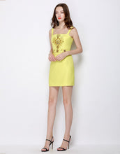 Load image into Gallery viewer, Sunshine Embellished Strappy Mini Dress *WAS £150*