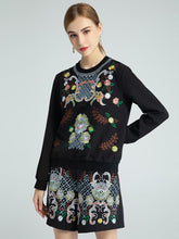 Load image into Gallery viewer, The Secret Garden embroidered two piece set