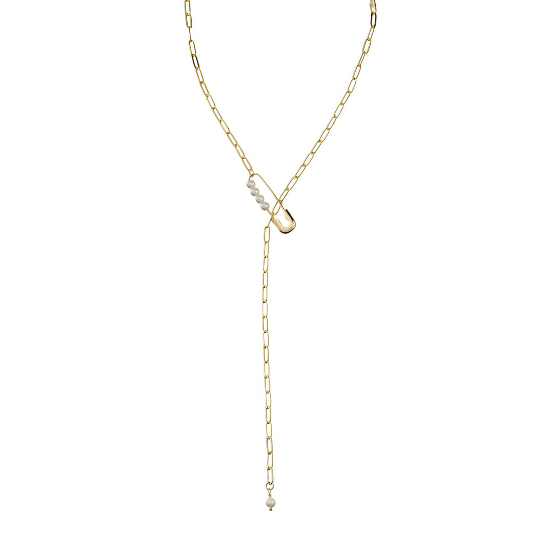 Pin Necklace by TALIS CHAINS