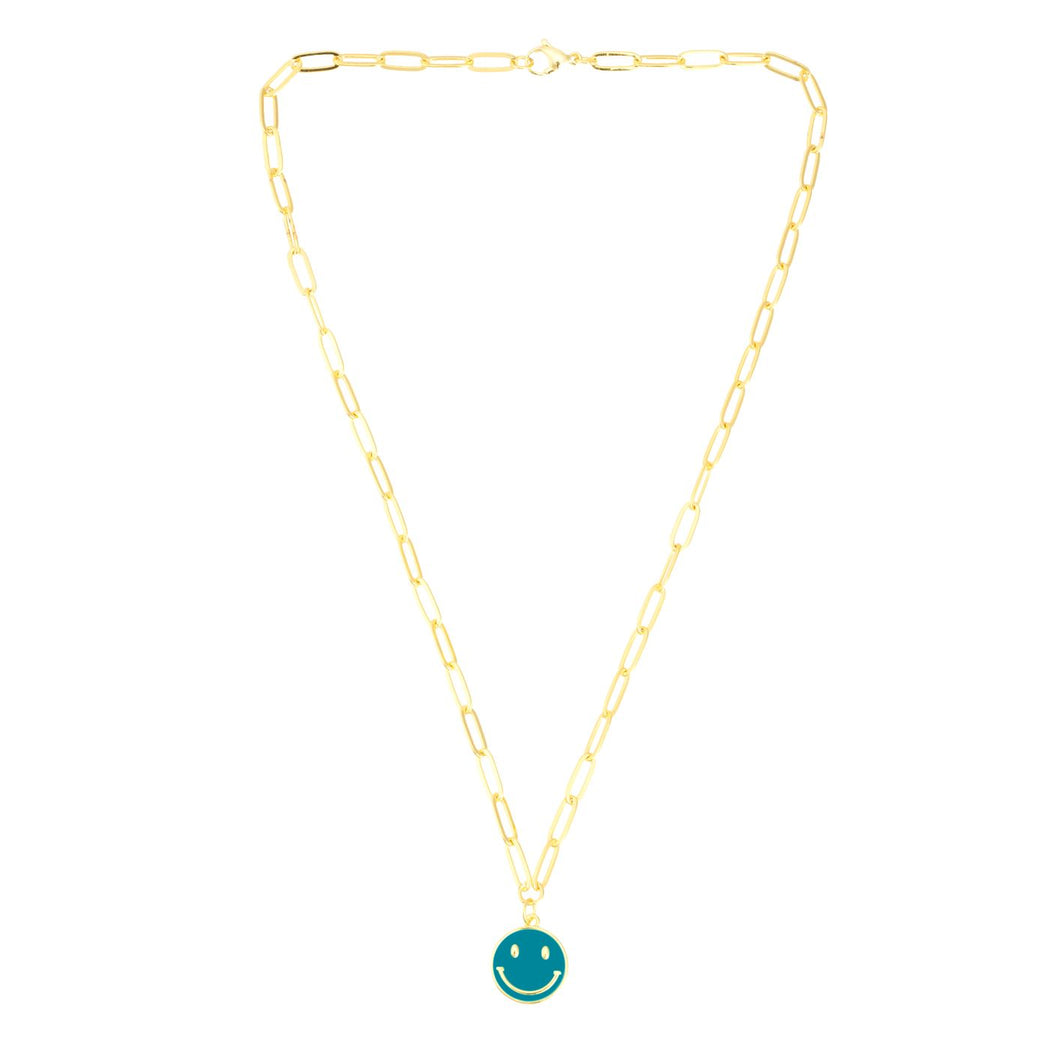 NEW! Happiness Necklace in Teal - TALIS CHAINS