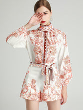 Load image into Gallery viewer, Terracotta paisley two piece set