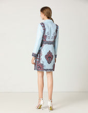 Load image into Gallery viewer, Blue Pearl Blazer dress