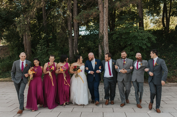 Wildroot wedding photo