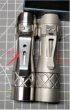 PREORDER LM10 TITANIUM LUMINTOP 10TH ANNIVERSARY FLASHLIGHT