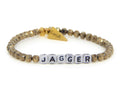 Custom Name Bracelet-White Letters