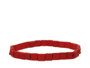 Red Squared Dude Bracelet