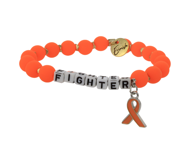 Leukemia and Kidney Fighter Stretch Bracelet