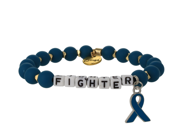 Ovarian Fighter Stretch Bracelet