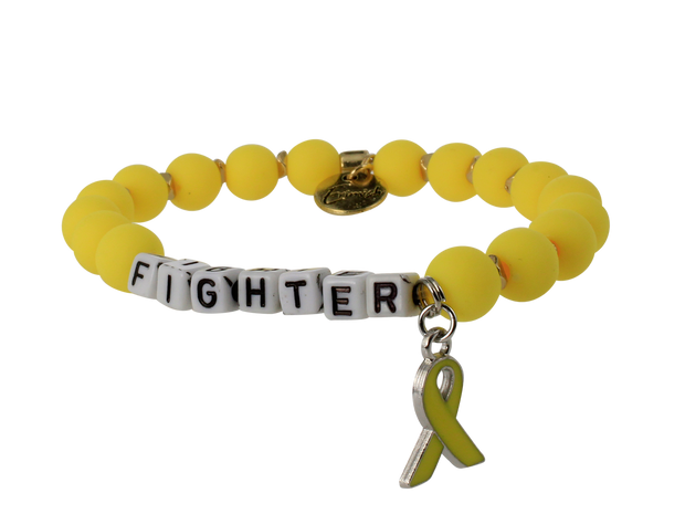Bladder, Sarcoma and Bone Fighter Stretch Bracelet