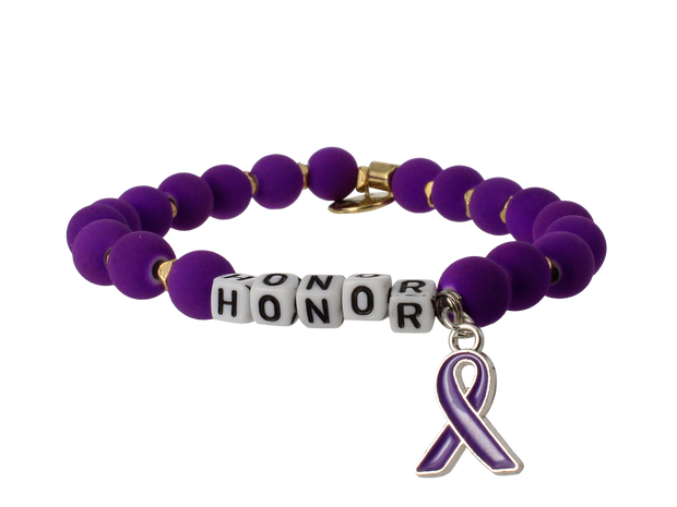 Honor Caregivers Stretch Bracelet