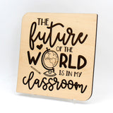 Wood Card, Teacher Appreciation Week, Preschool Teacher,