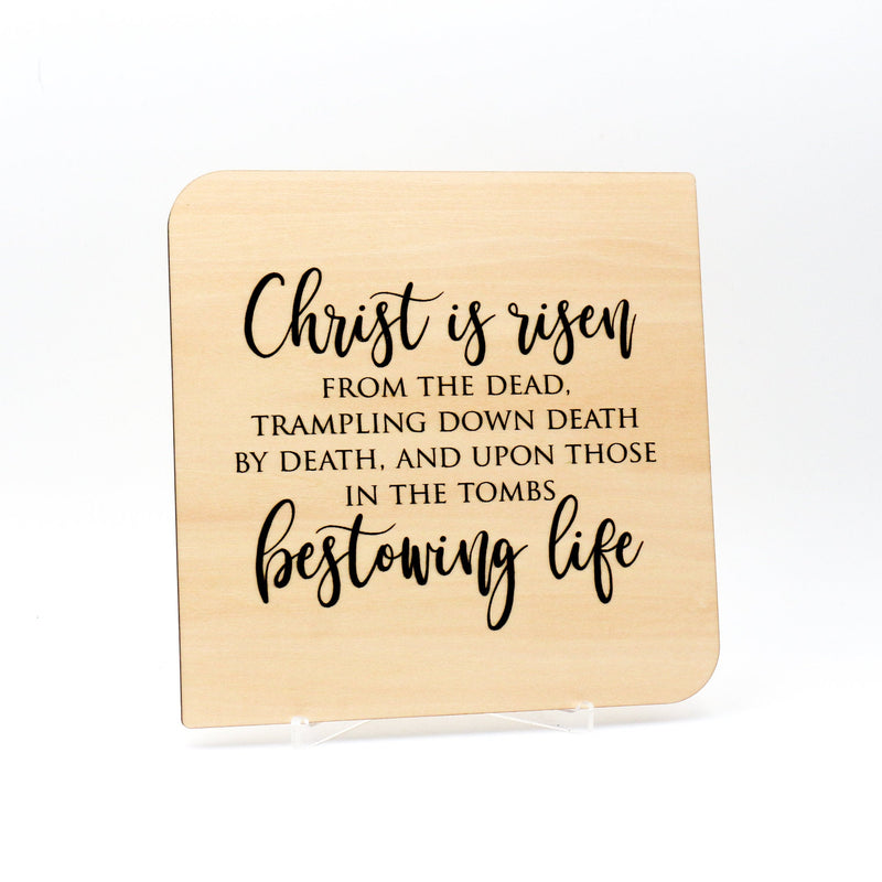 Christ is Risen, Christian Easter Cards, Bible Verse Cards, Christian Gifts,