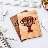 Boss Leaving Gift, Wood Card, Gifts for Boss,