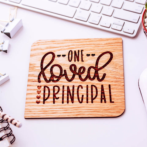 Principal Gift, Teacher Appreciation Week, Wood Card, Principal