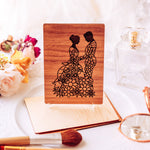 Unique Wedding Card, Wedding Gift for Couple, Personalized Gift,
