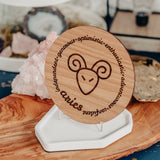 Aries Gift, Aries Decor, Astrology Gifts, Zodiac Gifts, Horoscope Gift, Aries Birthday Gift,