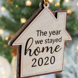 2020 Christmas Ornament, Funny Christmas Ornaments, Quarantine Ornament,  Covid Ornament, Wooden Christmas Tree Ornaments,