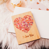 Valentines Card Wife, Girlfriend Gift, Valentines Day Gift, Gift for Her, Fiance Valentine Card,