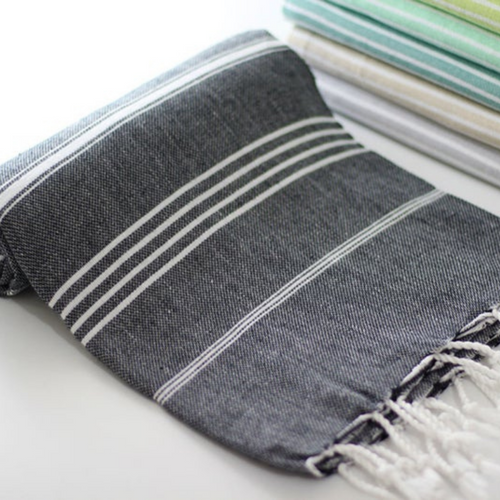 CLASSIC Turkish Towel in black