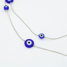 Load image into Gallery viewer, Bead details of NAZAR Evil Eye Glasses Chain