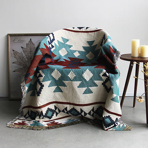KILIM TURQUOISE Throw