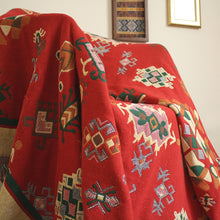 Load image into Gallery viewer, KILIM RED Throw